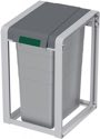 Hailo Wertstoffsammler 35L H570Xb350Xt415mm Telegrau Staubgrau Basiseinheit - 0935-202