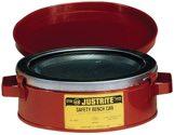 Asecos Tränkbehälter 1,0l Stahlbl.D.124xH140mm - 33534