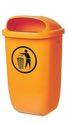 Sulo Abfallbehälter H650Xb395Xt250mm 50L Orange - 1052434