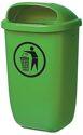 Sulo Abfallbehälter H650Xb395Xt250mm 50L Grün - 1053902