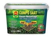 COMPO RasenNeuanlageMix 2,2 kg für 100 m² - 1026612004