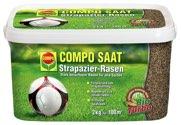 COMPO SAAT Strapazier-Rasen 2 kg für 100 m² - 1388612004