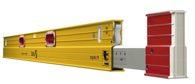 STABILA Teleskop-Wasserwaage Type 106 TM, 216 – 379 cm, mit Seltenerd-Magnetsystem - 17711