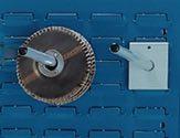 Bott Universalhalter L.150mm Rd.D.16mm F.Schlitzplatten - 1402202416