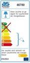 as-Schwabe 46780 Stativ mit Halogenstrahler 400W, 2,5m H05RN-F 3G1,0 (EEK: C)