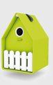 EMSA Landhaus Vogelhaus 15,3x23,8x16 grün - 514122