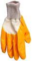 GartenStar Damenhandschuhe Nitril Gr. 8 gelb/weiß - 294417
