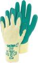 TRIUSO GreenGrip - Baumwoll/PE-Handschuh mit Latex Größe L - H310L