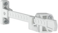 HOPPE Fensterfeststeller Kunststoff verkehrsweiß - 6488464
