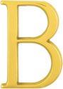 HOPPE Messing-Buchstabe b poliert - 1711091