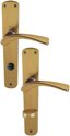 HOPPE Langschild-Garnitur 'Bedford' Aluminium Bronze 114L/315 - 6675250