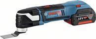 Bosch Akku-Multi-Cutter GOP 18 V-EC, mit 2 x 4,0 Ah Li-Ion Akku, L-BOXX 06018B0000