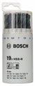 Bosch 19tlg. Kunststoffrunddose Metallbohrer-Set HSS-R 2607018355