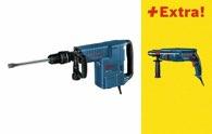 Bosch Schlaghammer mit SDS-max GSH 11 E, mit Bohrhammer GBH 2400 0615990G8S