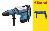 Bosch Bohrhammer mit SDS-max GBH 12-52 DV, mit Bohrhammer GBH 2400 0615990H7P
