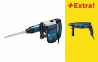 Bosch Schlaghammer mit SDS-max GSH 7 VC, mit Bohrhammer GBH 2400 0615990H7S