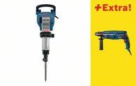 Bosch Abbruchhammer GSH 16-30 und Bohrhammer GBH 2400 0615990H7W