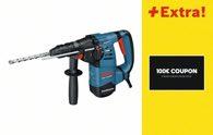 Bosch Bohrhammer mit SDS-plus GBH 3-28 DFR, mit Coupon 0615990H9F