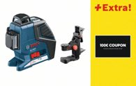 Bosch Linienlaser GLL 3-80 P, mit Coupon 06159940GV