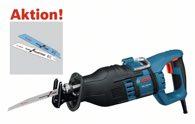 Bosch Säbelsäge GSA 1300 PCE, mit 20 Säbelsägeblättern 0615990EC6