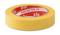 KIP 308 WASHI-TEC® PREMIUM PLUS - gelb 30mm x 50m (32 Rollen) - 308-30