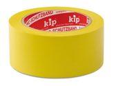 KIP 315 PVC-Schutzband – glatt, gelb  30mm x 33m (60 Rollen) - 315-13