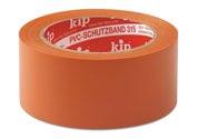 KIP 315 PVC-Schutzband – glatt, orange 30mm x 33m (60 Rollen) - 315-63