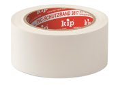 KIP 3817 PVC-Schutzband – glatt, weiß 50mm x 33m (36 Rollen) - 3817-55