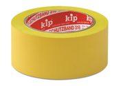 KIP 318 PVC-Schutzband – quergerillt, gelb 50mm x 33m (36 Rollen) - 318-15