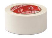 KIP 318 PVC-Schutzband – quergerillt, weiß 50mm x 33m (36 Rollen) - 318-55
