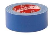 KIP 329 Gewebeband - blau 38mm x 25m (48 Rollen) - 329-38