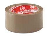 KIP 339 PVC-Packband – braun, 32 my     50mm x 66m (36 Rollen) - 339-00