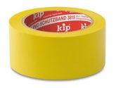 KIP 3815 PVC-Schutzband – glatt, gelb        50mm x 33m (36 Rollen) - 3815-15