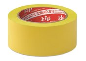 KIP 3818 PVC-Schutzband – quergerillt, gelb 30mm x 33m (60 Rollen) - 3818-13