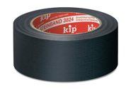 KIP 3824 Steinband – schwarz     50mm x 50m (24 Rollen) - 3824-51