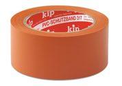 KIP 317 PVC-Schutzband – glatt, orange 50mm x 33m (36 Rollen) - 317-65