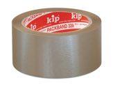 KIP 339 PVC-Packband – braun, 35 my 50mm x 66m (36 Rollen) - 339-20