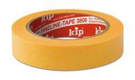 KIP 3808 WASHI-TEC® PREMIUM - gelb 18mm x 50m (48 Rollen) - 3808-18
