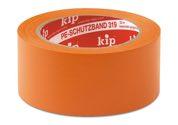 KIP 319 PE-Schutzband – glatt, orange 50mm x 33m (36 Rollen) - 319-65