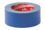 KIP 3829 Gewebeband – blau 30mm x 25m (42 Rollen) - 3829-33