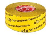 KIP 347 Construc-TapeConnect - gelb, Dachausbauband, verstärktes Spez.-Papier, einseitig klebend 60mm x 40m (5 Rollen) - 347-66