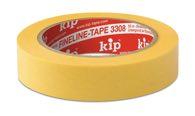 KIP 3308 WASHI-TEC® PREMIUM PLUS - gelb 24mm x 50m (36 Rollen) - 3308-24