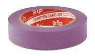 KIP 309 WASHI-TEC® TAPETE - lila 25mm x 50m (36 Rollen) - 309-25