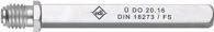 Dieckmann FS-Wechselstift Typ OMF 4-KT.9mm L.124mm Schl.m.Standardnuss edi - 0540/0909/50