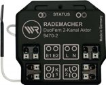Rademacher DuoFern Universal-Aktor 2-Kanal 230/50 V/Hz Standby-Verbr. ? 0,5 W 434,5 MHz - 35140262
