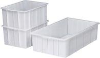 Craemer Kunststoffbehälter Eck.25L Nd-Pe Natur L475Xb340Xh220mm O.Griffloch - 81221110