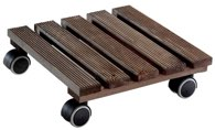 WAGNER Multi Roller Country Soft 28x28 cm Nature Palisander - 20020301