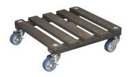 WAGNER Multi Roller Fichte lasiert 40x40 cm anthrazit - 20709001