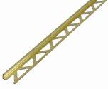 GAH Messing-Fliesen-Abschlußprofil 7507/8X1000 - 475420