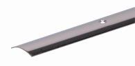 GAH Teppich-Übergangsschiene Edelstahl 0.9M 30X1mm - 476151
